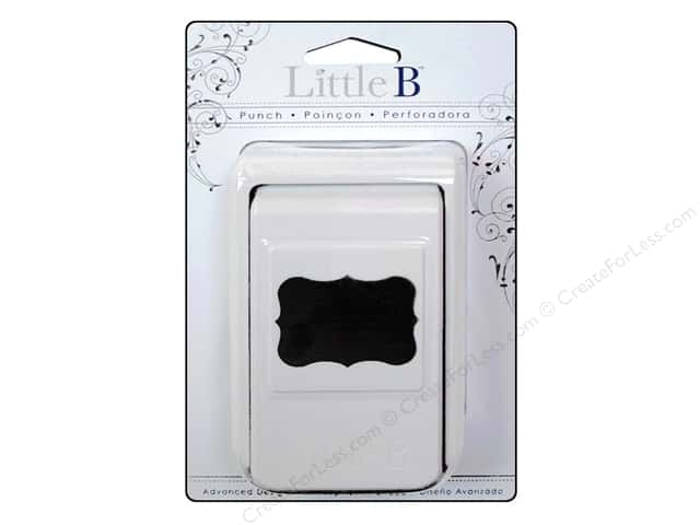 Little B Paper Punch Medium Decorative Label