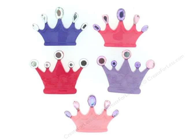 Jesse James Dress It Up Embellishments Princess Crowns