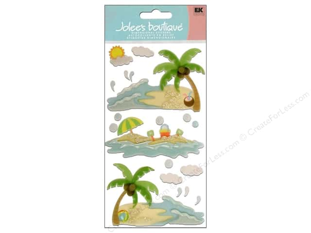 Jolee's Boutique Vellum Stickers Waves and Sand