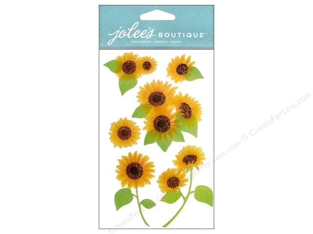 Jolee's Boutique Embellishments Vellum Sunflowers