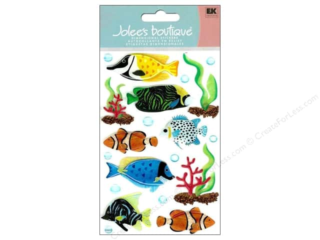 Jolee's Boutique Stickers Large Tropical Fish