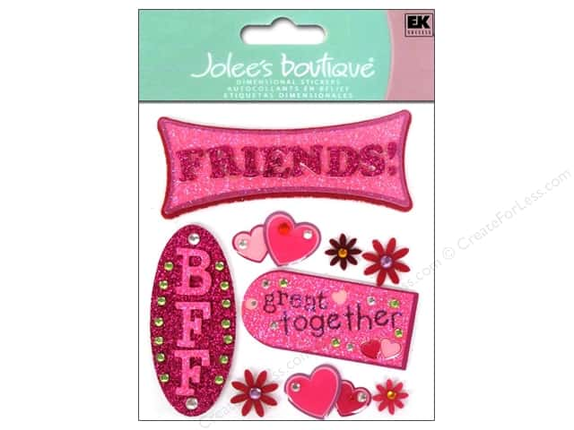 Jolee's Boutique Stickers Friends