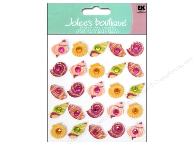 Jolee's Boutique Stickers Sea Shell Repeats