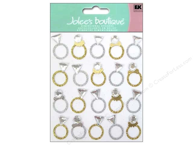 Jolee's Boutique Stickers Rings Repeat