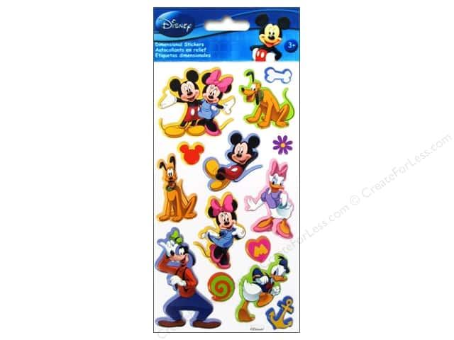 EK Disney Sticker Puffy Mickey & Friends