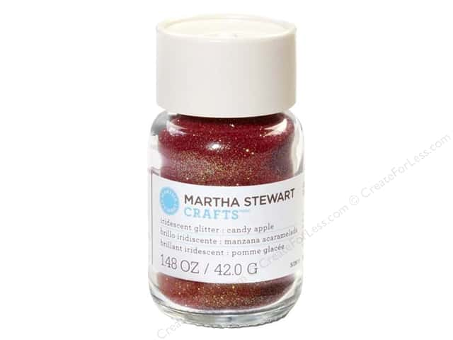 Martha Stewart Glitter Iridescent Candy Apple