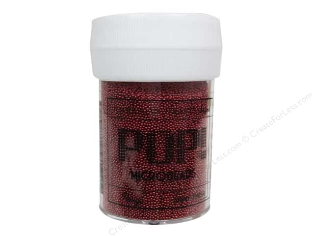 American Crafts Pop! Microbeads 1 oz. Rouge