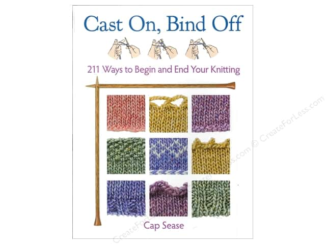 That Patchwork Place Cast On, Bind Off Book by Cap Sease