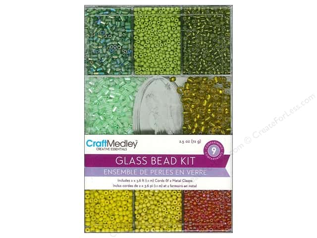 Multicraft Bead Glass Kit Tropical