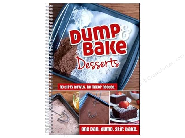 CQ Products Dump Bake Desserts Book