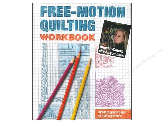 Stash By C&T Free-Motion Quilting Workbook Book