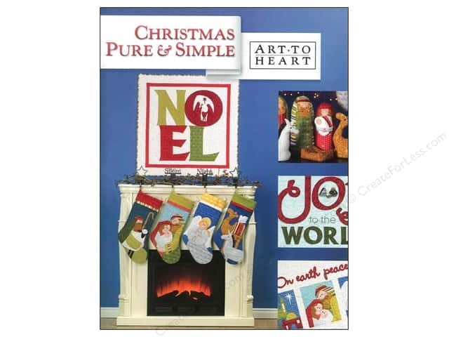 Art to Heart Christmas Pure & Simple Book by Nancy Halvorsen