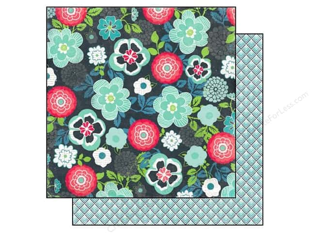 Echo Park 12 x 12 in. Paper We Are Family Collection Family Floral (25 sheets)