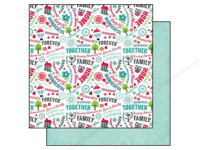 Echo Park 12 x 12 in. Paper We Are Family Collection Good Times (25 sheets)