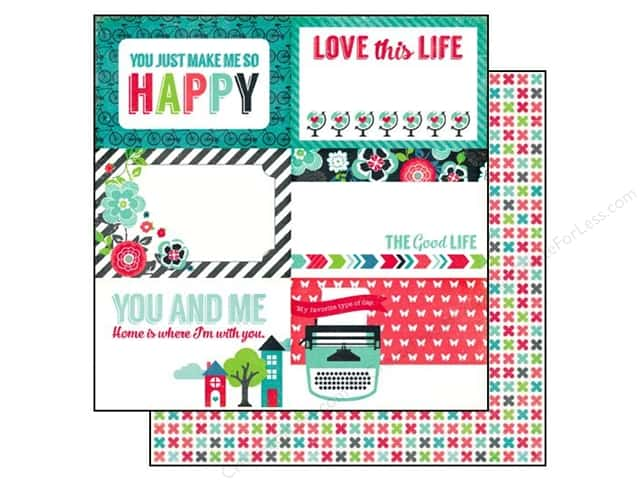 Echo Park 12 x 12 in. Paper We Are Family Collection 4 x 6 in. Journaling Cards (25 sheets)