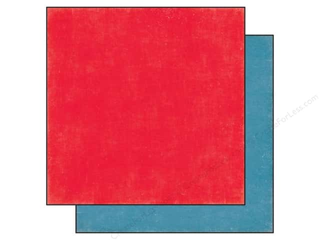 Echo Park 12 x 12 in. Paper We Are Family Collection Red/Blue (25 sheets)