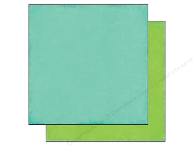 Echo Park 12 x 12 in. Paper We Are Family Collection Teal/Green (25 sheets)