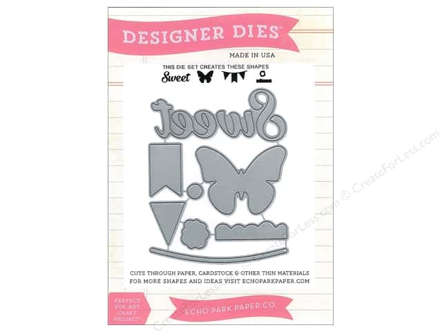 Echo Park Designer Dies We Are Family Sweet, Butterfly, Banner