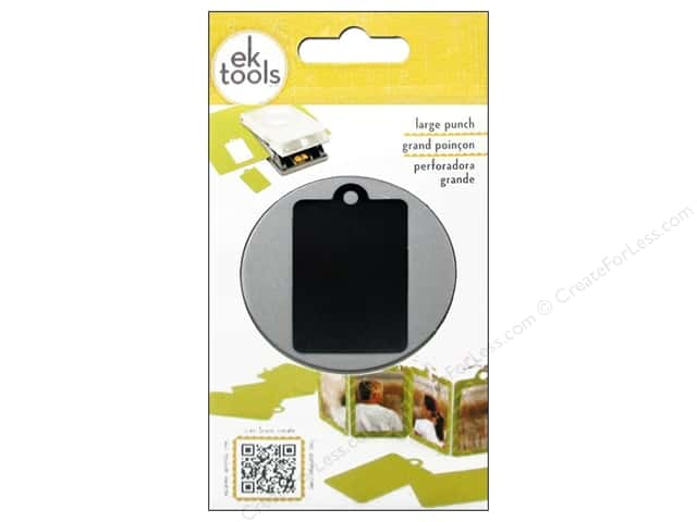 EK Success Large Punch Retail Tag 2 1/8 in.