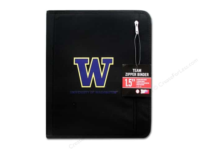 Turner Binder Zipper Washington