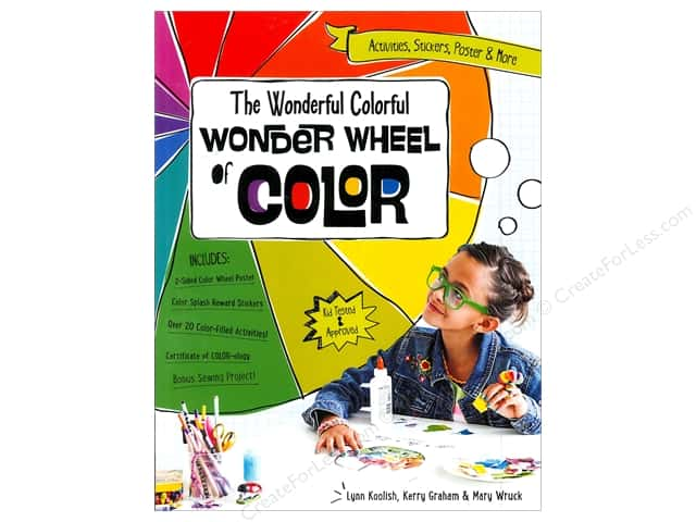 FunStitch Studio By C&T The Wonderful Colorful Wonder Wheel of Color Book