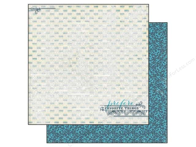 Authentique 12 x 12 in. Paper Favorite Unforgettable (25 sheets)