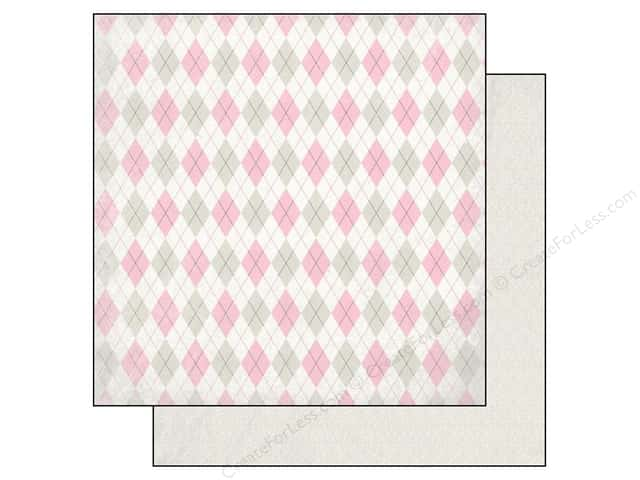 Authentique 12 x 12 in. Paper Classique Pretty Diamond (25 sheets)