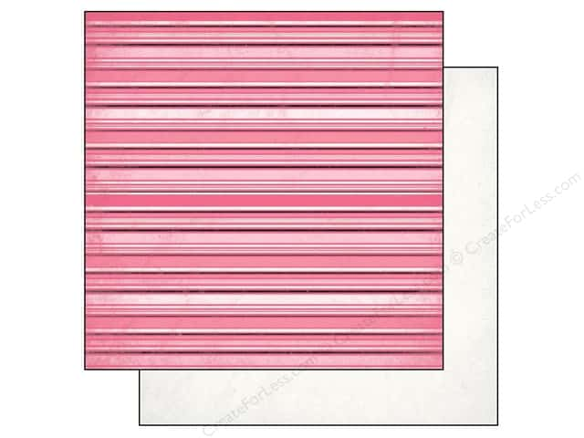 Authentique 12 x 12 in. Paper Classique Pretty Ribbon (25 sheets)