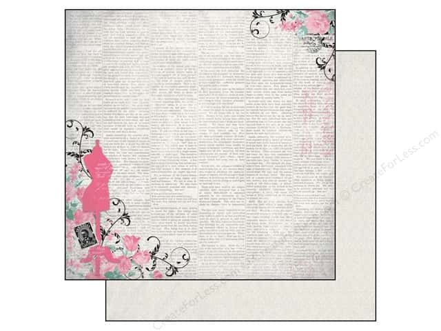 Authentique 12 x 12 in. Paper Classique Pretty Neat (25 sheets)
