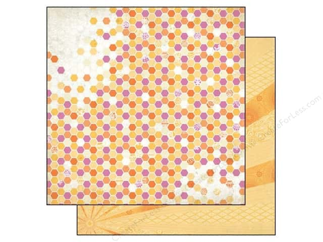 Authentique 12 x 12 in. Paper Radiant Beaming (25 sheets)