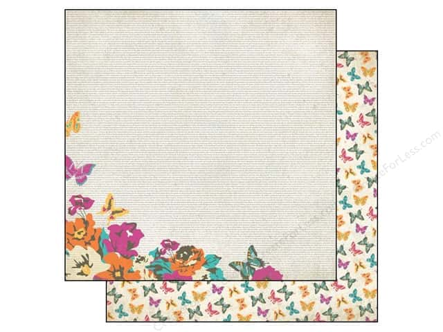 Authentique 12 x 12 in. Paper Radiant Whimsical (25 sheets)