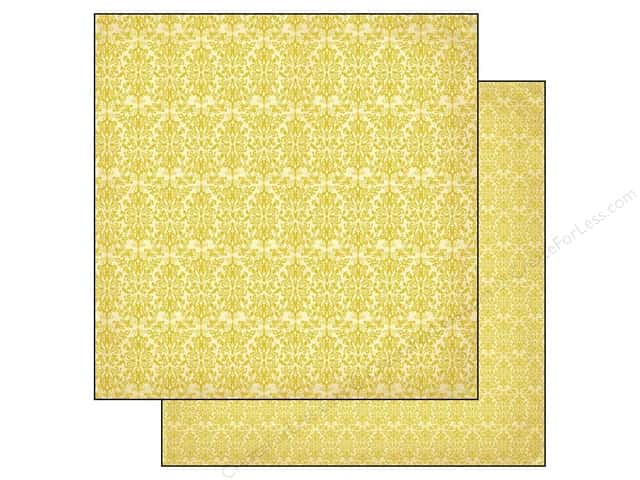 Authentique 12 x 12 in. Paper Harmony Zest (25 sheets)