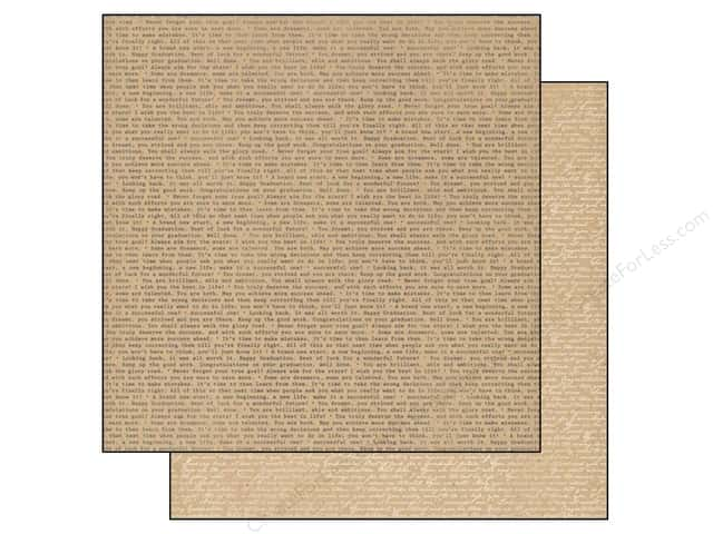 Authentique 12 x 12 in. Paper Accomplished Scribe (25 sheets)