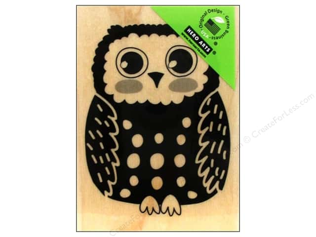 Hero Arts Rubber Stamp Circle Owl