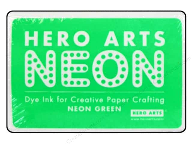 Hero Arts Neon Dye Ink Pad Neon Green