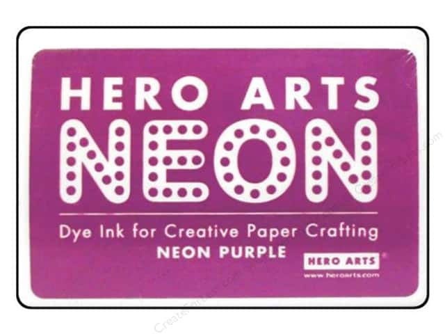Hero Arts Neon Dye Ink Pad Neon Purple