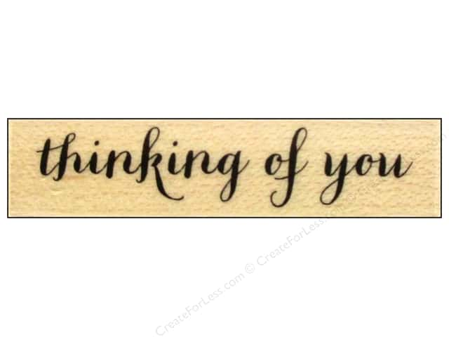 Hero Arts Rubber Stamp Thinking Of You Script