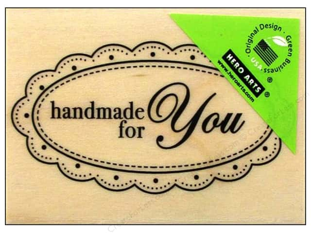 Hero Arts Rubber Stamp Handmade