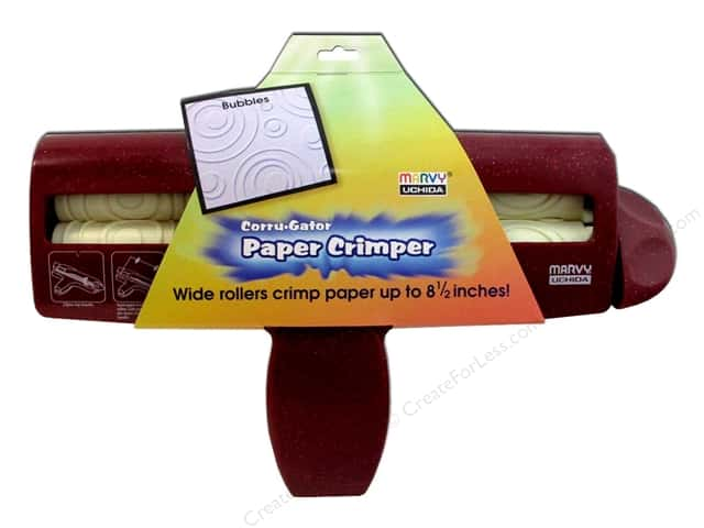 Uchida Corrugator Paper Crimper 8.5 in. x 11 in. Bubble