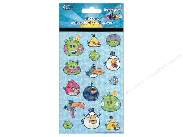 SandyLion Sticker Standard Angry Birds