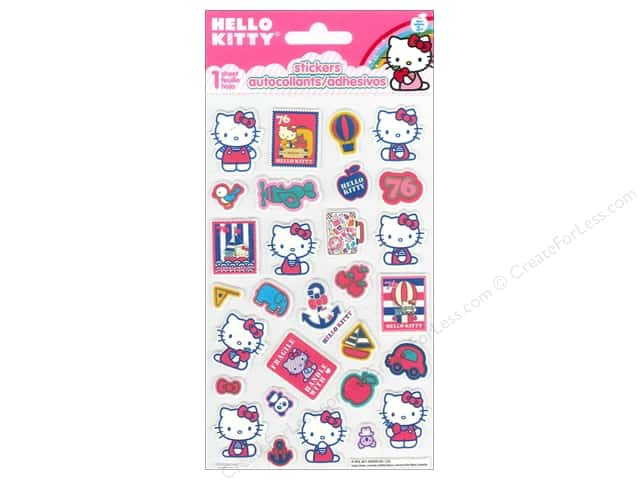 SandyLion Sticker Foam Hello Kitty