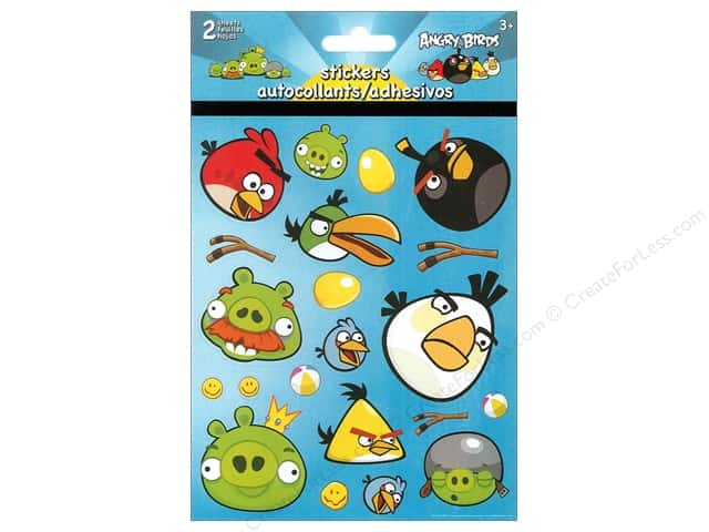 SandyLion Sticker Foldover Angry Birds