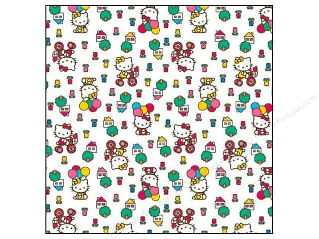 SandyLion 12 x 12 in. Paper Hello Kitty Icons (25 sheets)