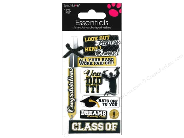 SandyLion Sticker Essentials Graduation