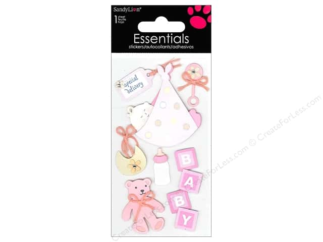 SandyLion Sticker Essentials Baby Girl