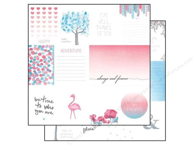 Glitz Design 12 x 12 in. Paper Felicity Bits & Pieces (25 sheets)