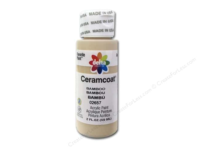 Ceramcoat Acrylic Paint by Delta 2 oz. #2657 Bamboo