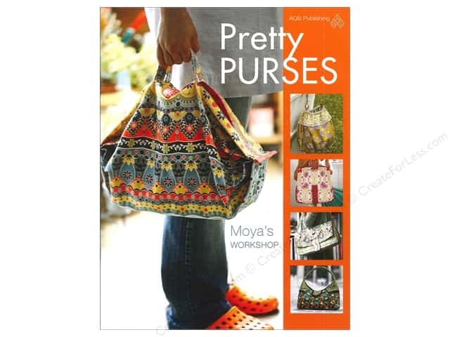 American Quilter's Society Pretty Purses Book by Moya's Workshop
