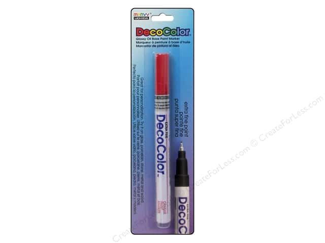 Uchida Decocolor Paint Marker - Extra Fine Tip - Red