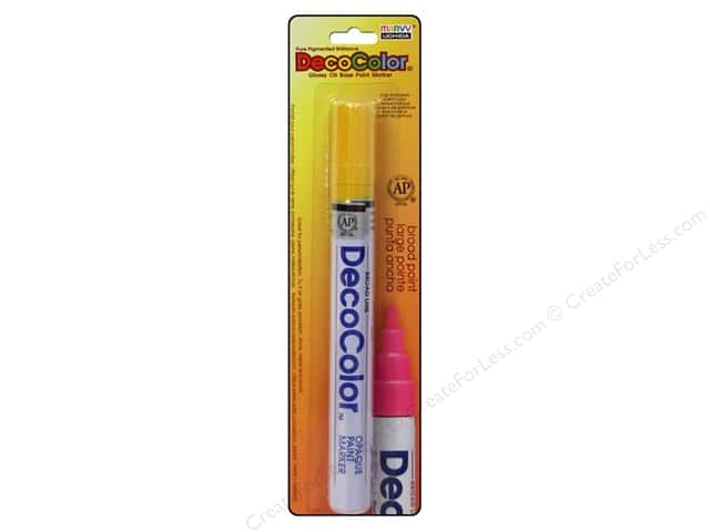 Uchida DecoColor Opaque Paint Marker Broad Point Yellow